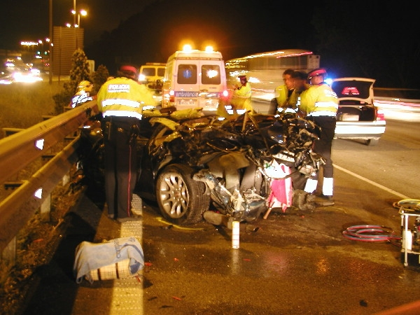 N-II Accidente en Martorell