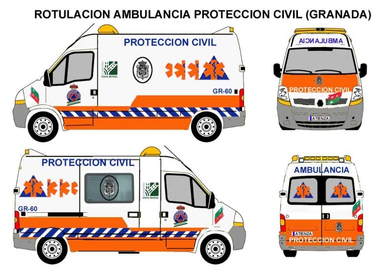 Ambulancia Proteccion Civil Granada