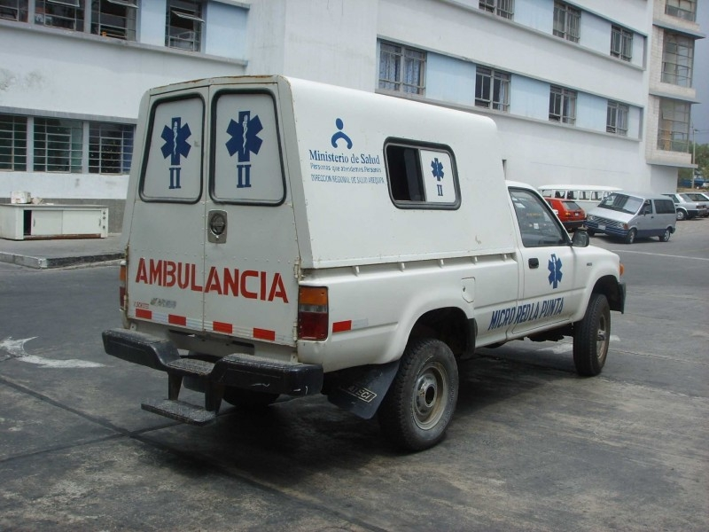 Ambulancia Rural : Arequipa - Peru