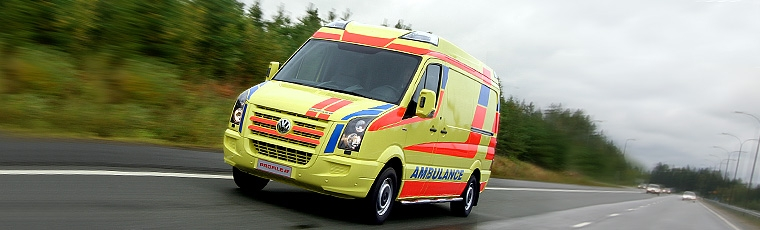 Ambulancia Volkswagen Crafter