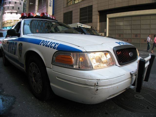 Ford Crown Victoria NYPD.