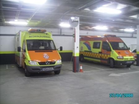 Ambulancias de Protección Civil de Sanse