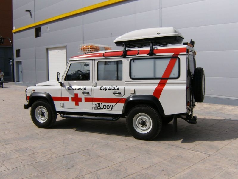 Ambulancia Todoterreno Cruz Roja Alcoy