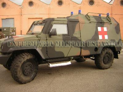 Ambulancia IVECO MLV blindada