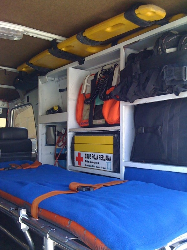 Interior Ambulancia Alfa 61.2