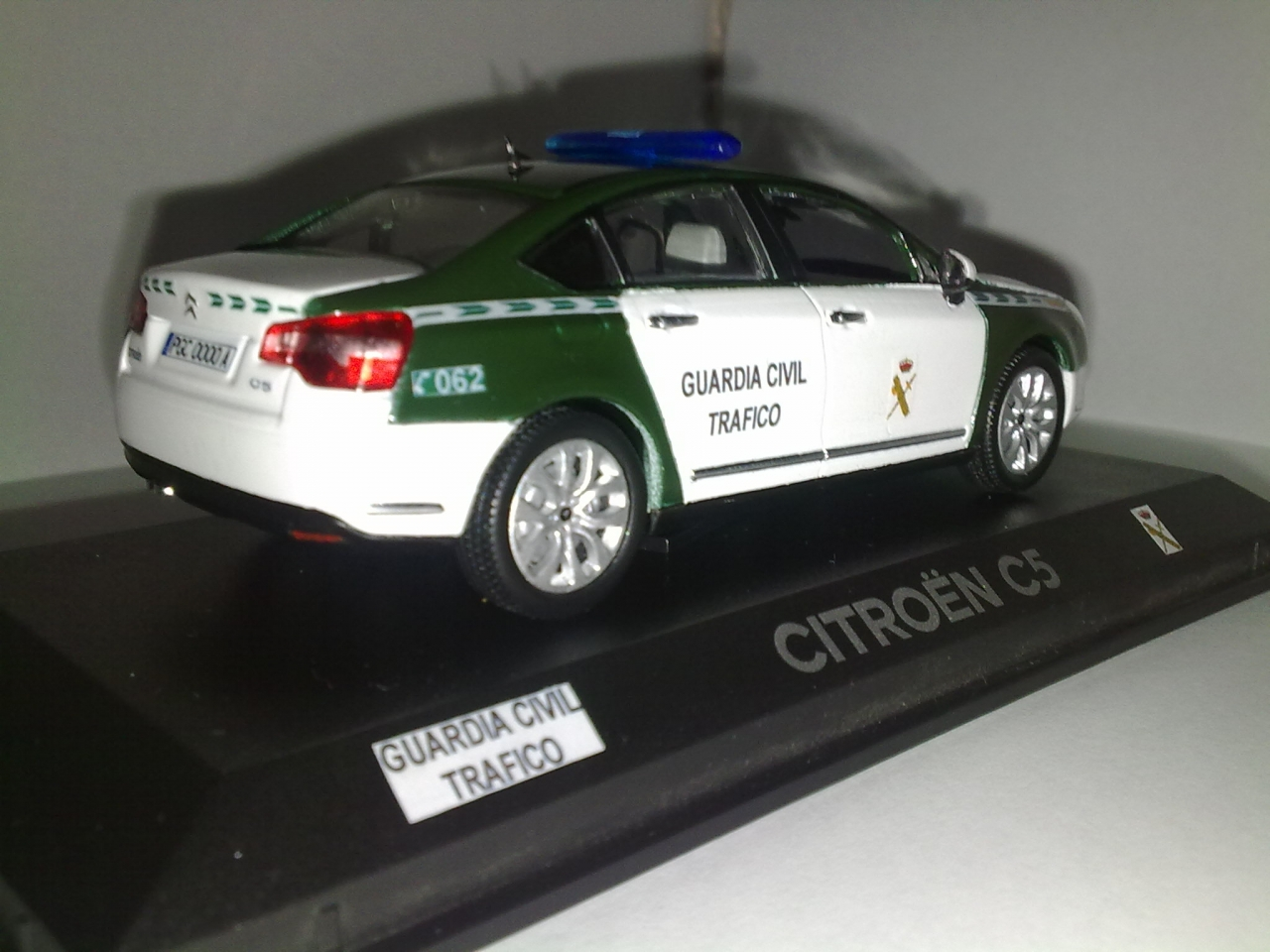 CITROEN C5 III GUARDIA CIVIL, 1/43
