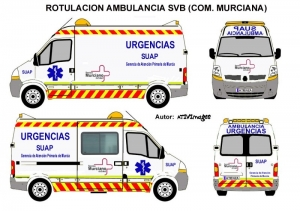Rotulacion de ambulancias