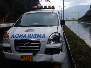 Accidentes de vehiculos de emergencia