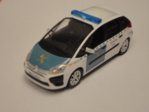 CITROEN C4 PICASSO GUARDIA CIVIL